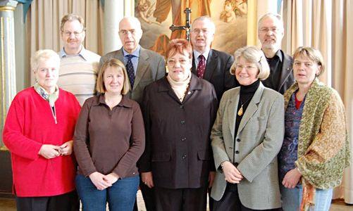 Die Mitglieder des Kirchengemeinderates.